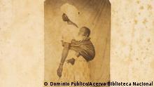 Sklavische Frau mit Kind in Brasilien - Archivbild der brasilianischen Nationalbibliothek