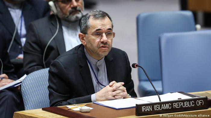 مجید تخت روانچی نماینده جمهوری اسلامی در سازمان ملل