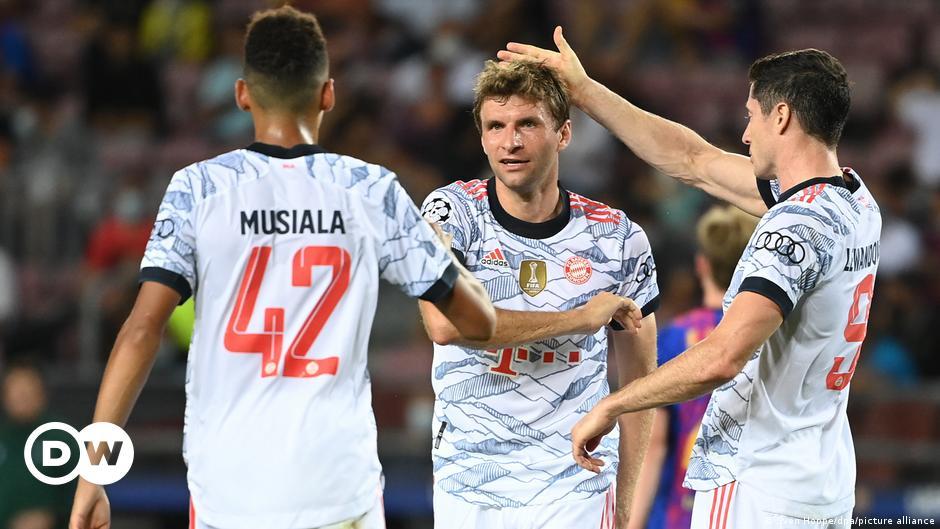 Champions League: FC Bayern gegen Dynamo Kiew
