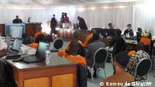 Die Rechte wurden uns vom Romeu da Silva, DW Korrespondent in Maputo, genehmigt. Vielen Dank! Beste Grüße, Maria João Pinto (Portugiesisch fur Afrika) Foto 1 1. Titel: Prozess Versteckte Schulden 2.Bildbeschreibung: Gregorio Leão, ehemaliger Direktor des Geheimdienstes (SISE), im Prozess um die versteckten Schulden, den zweiten Tag. 3. Fotograf: Romeu da Silva (DW Korrespondent) 4. Wann wurde das Bild gemacht: 28.09.2021 5.Wo wurde das Bild aufgenommen: Maputo (Mosambik) 6. Schlagwörte: Gregório Leão, versteckten Schulden, Mosambik, Justiz