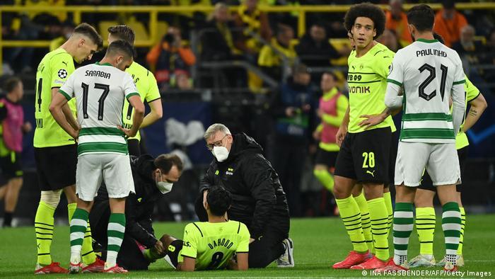 Fußball Champions League | Dortmund v Lissabon Dahoud