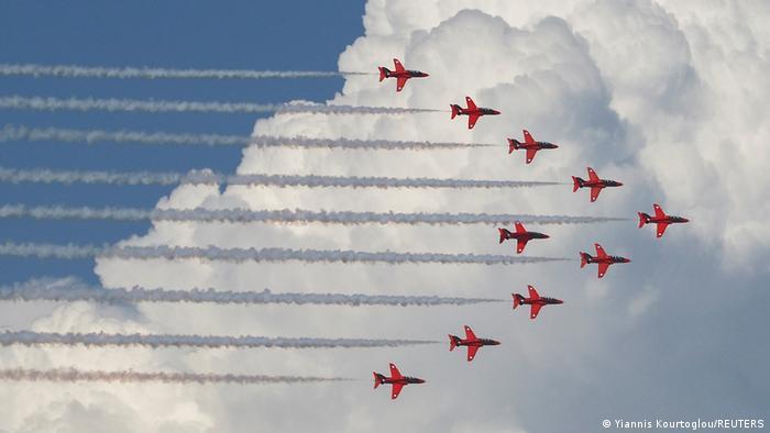 BdTD Zypern | British Royal Air Force Red Arrows