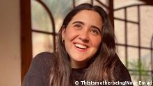 Aktivistin Nour Emad aus Kairo, Gründerin von https://thisismotherbeing.com/