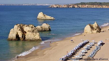 Felsen, Sand und Meer - Portugals Atlantikküste an der Algarve