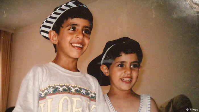 A young Shugaa with his brother Mo