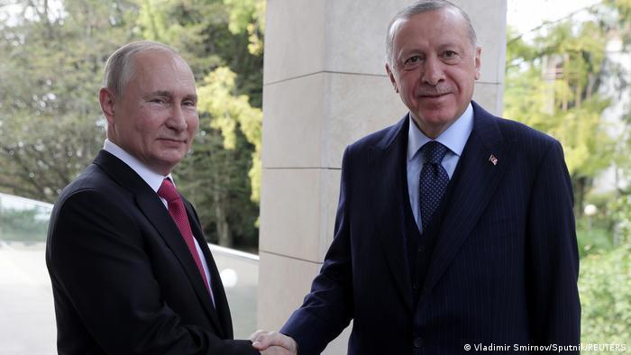 Rusya Devlet Başkanı Putin ve Cumhurbaşkanı Erdoğan