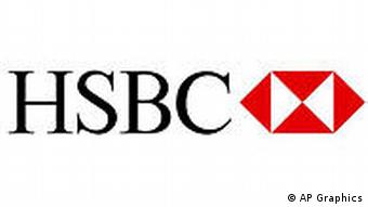 HSBC Holdings logo, graphic element on white