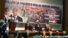 United Patriotic Front (FPU) will be formalized next Tuesday, Was zu sehen ist: The United Patriotic Front (FPU) will be formalized next Tuesday, October 5, in Luanda. The announcement was made to the press by the President of UNITA, Adalberto Costa Júnior, at the end of the Great Meeting of the political project PRA-JA Serving Angola, which aimed to assess and decide the feasibility and modality of its participation in the search for alternation of political power. Wann und wo: Luanda, Angola Copyright: Borralho Ndomba, DW