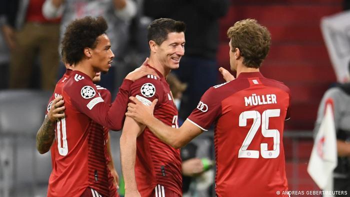 Fußball Champions League | Bayern München vs Dynamo Kiew | Tor