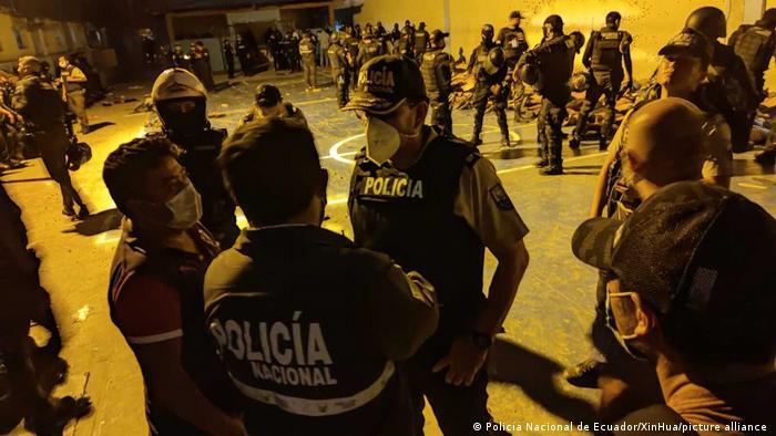 Ecuador I Gefängnisaufstand