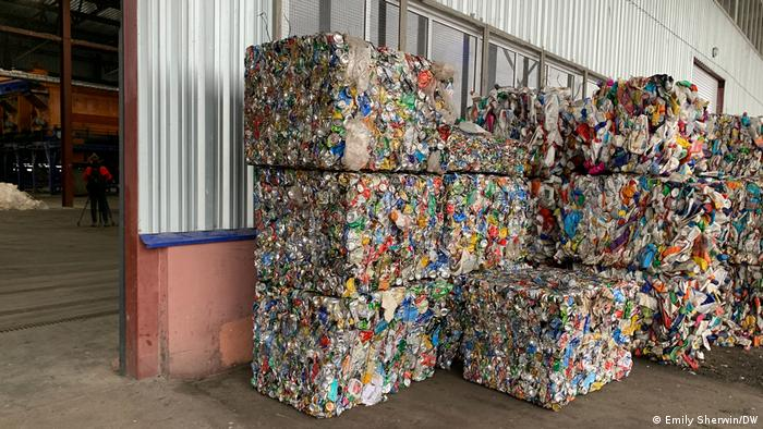 Piles of waste in Russia