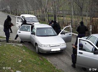 Спецоперация в Таджикистане по задержанию сбежавших преступников