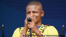 Dicko Fils, Sänger aus Burkina Faso Autor : Dicko Fils - Festival international Nuits