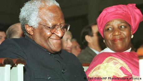 Desmond Tutu na mkewe Leah Nomalizo Tutu