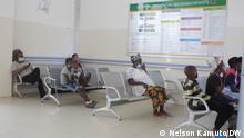 Wartezimmer im Kinderkrankenhaus von Malanje. Foto: Nelson Kamuto/DW am 30.9.2021