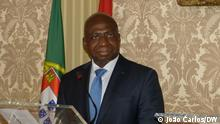 Tete Antonio, foreign minister of Angola in a press conference about CPLP, Community of Portuguese-speaking countries in Lisbon Datum/Ort: 01/10/21, Lisbon, Portugal.