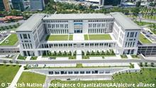 ISTANBUL, TURKEY - JULY 25: (----EDITORIAL USE ONLY – MANDATORY CREDIT - TURKISH NATIONAL INTELLIGENCE ORGANIZATION / HANDOUT - NO MARKETING NO ADVERTISING CAMPAIGNS - DISTRIBUTED AS A SERVICE TO CLIENTS----) New headquarters of Turkish National Intelligence Organization (MIT) is seen in Istanbul, Turkey on July 25, 2020. The new building of the National Intelligence Organization in Istanbul will be opened officially today. Turkish National Intelligence Organization / Anadolu Agency