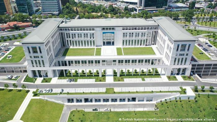 The new headquarters of Turkey's MIT foreign intelligence service in Istanbul, which was opened in July of 2021.