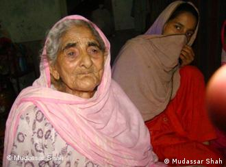 Khurshida Bibi lost two sons and three daughters in the floods