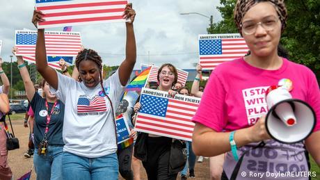 USA Protest gegen Herzschlag-Gesetz | Jackson