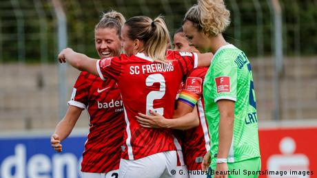 <div>Women's Bundesliga: Deja vu for Wolfsburg hands Bayern Munich title advantage</div>