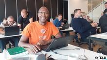 Thierno Alex Diallo, Mitglieder der partei l'Alternative. Kopenhagen, Dänemark