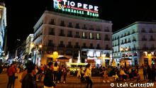 Spanien, Madrid, September 2021 Madrid nach Coronavirus Pandemie.