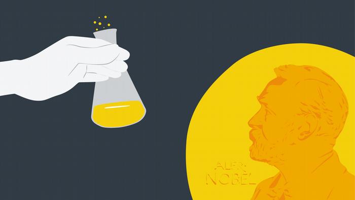 Infografik Artikelbild Nobelpreis Chemie Symbolbild