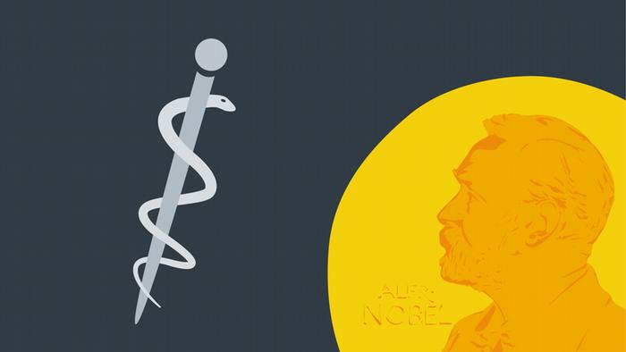 Symbol for the Nobel Prize for Medicine