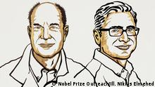 David Julius and Ardem Patapoutian. The Nobel Prize in Physiology or Medicine 2021. Ill. Niklas Elmehed © Nobel Prize Outreach