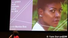 Kamerunische Schauspielerin und Produzentin beim Afrika Film Festival Köln 2021