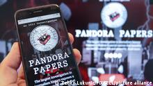 Illustration Pandora Papers. Pandora Papers is the name for a new leak of documents that reveal the secret wealth of about 35 world leaders, both past and present, and more than 300 officials around the world. The term Croatia in English is mentioned 7,500 times in Pandora's documents., in Zagreb, Croatia, on October 04, 2021. Photo: Zeljko Lukunic/PIXSELL