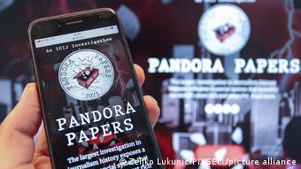 Pandora Papers | Symbolbild