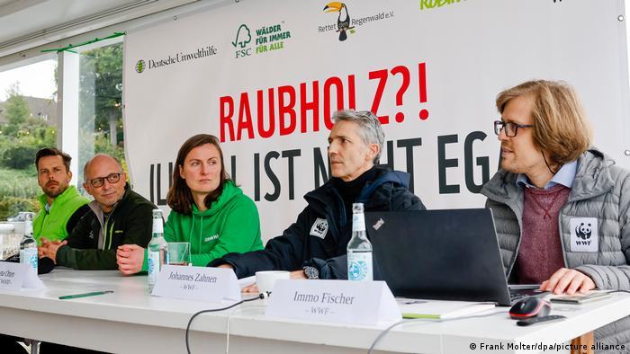 Pressekonferenz Aktionsbündnis Gorch Fock in Kiel