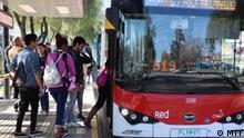 Elecktrobussen in Chile. (MTT©)