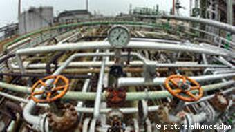 PCK Raffinerie in Schwedt (Foto: dpa)