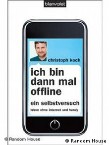 The cover of the book Ich bin dann mal offline