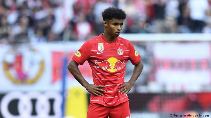 Red Bull Salzburg forward Karim Adeyemi