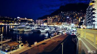 Monaco'daki evin manzarası