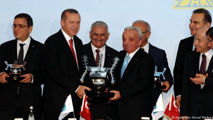 Recep Tayyip Erdoğan & Binali Yıldırım & Mehmet Cengiz