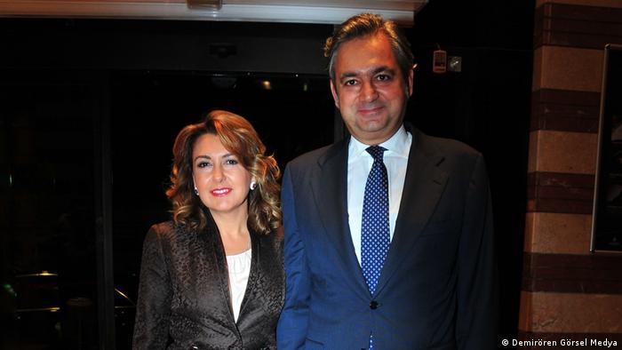 Mehmet Ali Yalçındağ ve eşi Arzuhan Doğan Yalçındağ