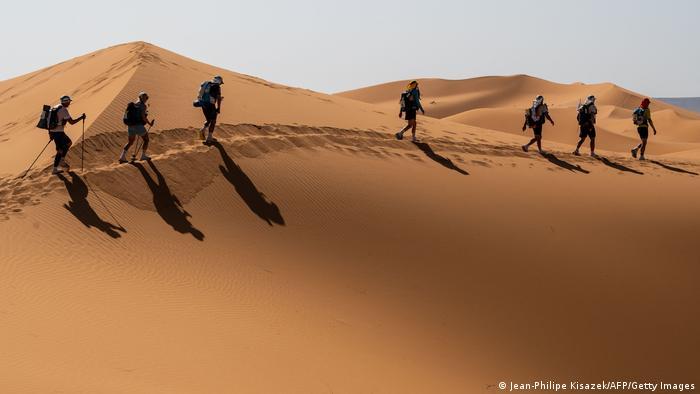 BdTD Marokko   250 Kilometer Wettrennen in der Sahara