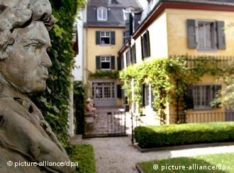 Beethoven's childhood home in Bonn
