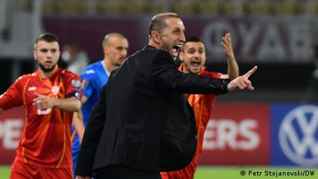 Germany better under Hansi Flick, says North Macedonia coach Blagoja Milevski
