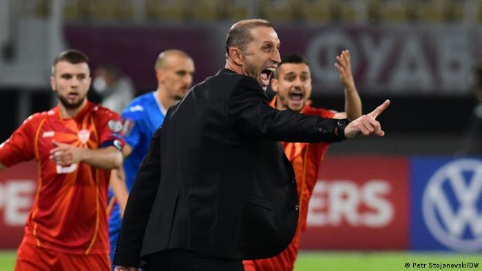 Nordmazedoniens Trainer Blagoza Milevsky