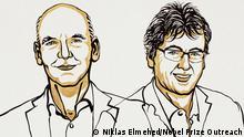 Illustration: Nobelpreis für Chemie 2021 für Benjamin List und David W.C. MacMillan
