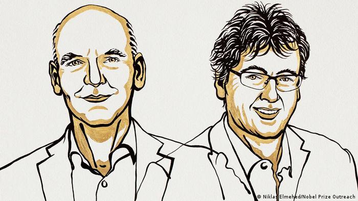 2021 Nobel Prize in Chemistry winners Benjamin List und David W. C. MacMillan