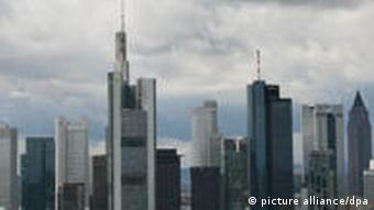 Banken-Skyline in Frankfurt (Foto: dpa)