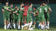 iranische Fußball-Nationalmannschaft im Training in Dubai vor dem WM-Qualifikationsspiel gegen VAE Stichworte: iranische Fußball-Nationalmannschaft im Training in Dubai vor dem WM-Qualifikationsspiel gegen VAE Quelle: fararu (rechtefrei)