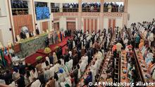 Ethiopia's Parliament prepares to swear-in Prime Minister Abiy Ahmed for a second five-year term, at the House of Peoples Representatives in the capital Addis Ababa, Ethiopia Monday, Oct. 4, 2021. The prime minister, the 2019 Nobel Peace Prize winner for restoring ties with neighboring Eritrea and for pursuing sweeping political reforms, now faces major challenges as war in the Tigray region spreads into other parts of the country. (AP Photo)